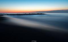 Lucid Sunrise (Tim from Pgh) Tags: ocean longexposure water sunrise newjersey atlantic oceangrove oceanfront oceansunrise oceangrovenewjersey atlanticoceansunrise oceangrovesunrise longexposuresunrise pentaxk30