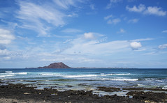 Canary Island Spain Fuerteventura View  El Lobos Island (charles.duroux) Tags: nyip