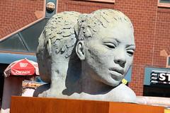 Morphous (ShellyS) Tags: nyc newyorkcity streets art manhattan parks unionsquare sculptures unionsquarepark morphous lionelsmit
