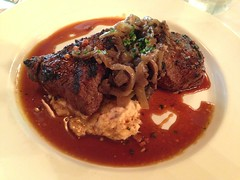Tournedos of Black Angus Beef, Commander's Palace, New Orleans (Deep Fried Kudzu) Tags: new black orleans louisiana angus beef palace tournedos commanders