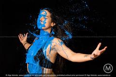 Xina (Iigo Malvido) Tags: madrid blue color rock metal azul milk colores splash leche xina oker vallekas malvido metaldrako