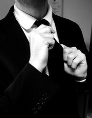 Prparation.. (fourmi_7) Tags: costume oral chic concours classe homme cravate trac interrogation prparation collgue