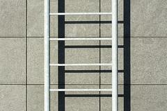 Ladder and shadow (Jan van der Wolf) Tags: shadow abstract shadows ladder shadowplay minimalism minimalistic trap lijnen lijn lijnenspel minimalisme playoflines interplayoflines map15543v
