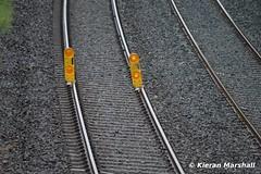 Worksite end, Ratheven, 18/6/16 (hurricanemk1c) Tags: irish train rail railway trains railways irishrail pw portlaoise 2016 iarnrd ireann iarnrdireann ratheven