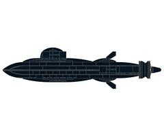 SSX-Dragonfish-MOD2-004 (Dragonov Brick Works) Tags: lego submarine snot ldraw microscale studless