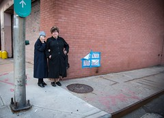 Tales from a Manhattan Street Corner (GrandWaz) Tags: people senior newyork elderly wall street nun 50club
