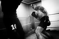 Ferocious sparring partner (Christophe.Frossard) Tags: leica blackandwhite bw blancoynegro sport blackwhite 28mm boxing summilux boxe schwarzweis mirrorless christophefrossard mattanga