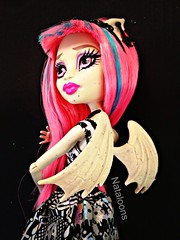 Monster High Rochelle Goyle (Nataloons) Tags: monster high doll gargoyle mattel rochelle goyle monsterhigh rochellegoyle