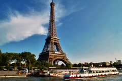 Eiffel Tower from Seine