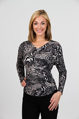 "9283 Dede<br /><span style=""font-size:0.8em;"">Jungle Paisley Soft Grey Multi (reversible front to Back neckline)                               </span> • <a style=""font-size:0.8em;"" href=""http://www.flickr.com/photos/62165999@N03/6924627222/"" target=""_blank"">View on Flickr</a>"
