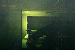 (Dem Terror) Tags: film night 35mm snapshot grain expired destroyed disposable