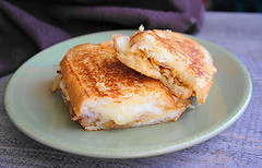 French Onion Grilled Cheese Sandwich (Kitchen Life of a Navy Wife) Tags: lunch frenchonion grilledcheese