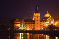 prague night colors (Dennis_F) Tags: city bridge reflection water colors museum night zeiss lights wasser prague nacht sony capital towers kirche prag praha tschechien most stadt getty czechrepublic fullframe dslr brcke fluss turm vltava gebude trme farben nachtaufnahme 135mm karluv karlovy smetana moldau lavka lazne pragueview 13518 a850 ceskrepublika sonyalpha sonydslr vollformat cz135 legi mlynec zeiss135 dslra850 sonya850 sonyalpha850 alpha850 sony135 sonycz135 prahaview pragaussicht