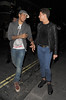 Chipmunk and Joey Essex on a night out with friends. London, England