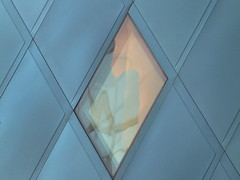 A00001 / contemporary jewish museum (janeland) Tags: sanfrancisco california blue abstract detail architecture diamonds aqua teal architect cube daniellibeskind 94103 cjm singintheblues contemporaryjewishmuseum yerbabuenadistrict