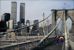 NYC Un record 2 (Xevi V) Tags: nyc newyorkcity usa newyork brooklynbridge twintowers eeuu novayork torresbessones twintowersnewyork isiplou