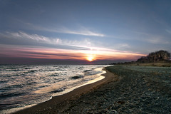 K7_10111 (Bob West) Tags: sunset ontario beach clouds k7 erieau southwestontario bobwest pentax1224 april78cvjb