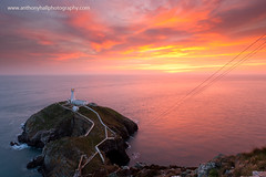 South Stack Lighthouse (Azzmataz) Tags: sunset lighthouse wales photography hall south stack anthony anglesey holyhead c2012 wwwanthonyhallphotographycom