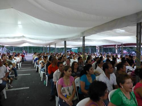 Inauguración, 8 Festival Matemática
