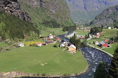 (A Sutanto) Tags: norway train river town village ride scenic railway cliffs valley fjord flam flamsbana sognefjord flasmdalen