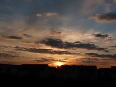 Sonnenaufgang (judith74) Tags: morning sky clouds sunrise himmel wolken sonnenaufgang morgen brandenburg oberhavel ohv hiwosomoshots