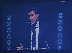 DSC_6364 Sebastian Coe on big screen