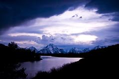 Receding Storm_DSC0819 (antelope reflection) Tags: sunset snow storm reflection water clouds river tetons oxbowbend tetonnationalpark nikond90