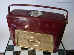 ADMIRAL Portable Tube Radio Model 4Z12 (USA 1954) (MarkAmsterdam) Tags: old classic sign metal museum radio vintage advertising design early tv portable colorful fifties tsf mark ad tube battery engineering pickup retro advertisement collection plastic equipment deck tape electronics era handheld sheet catalog booklet collectible portfolio recorder eames sales electrical atomic brochure console folder forties fernseher sixties transistor phono phonograph dealer cartridge carradio fashioned transistorradio tuberadio pocketradio 50s 60s musiktruhe tableradio magnetophon plaskon 40s meijster markmeijster markamsterdam coatradio tovertoom