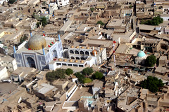 Sehwan Sharif in Sindh Province, Pakistan