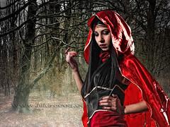 Caperucita Feroz (Isidr Cea) Tags: girl chica cuento littleredridinghood sesion fantasa caperucitaroja montexalo isidrocea saramachfouk wwwisidroceacom
