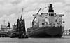 Bow Chain BW (tord75) Tags: ship texas houston skip channel 2012 tankers shipchannel houstonshipchannel shipspotting odfjell odfjelltankers vopakdeerpark