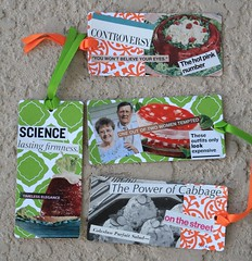 $5 - Congealed Salad Gift Tag Set of 4 - Martha Merry Original (Martha Merry) Tags: original strange collage salad martha tag science gift cabbage merry jello congealed gifttag marthamerry