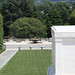 Looking east past Tomb of the Unknown Soldier at the Memorial Amphitheater plaza and