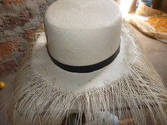 Panama Hats or Montecristi Hats