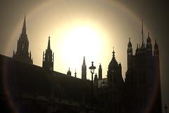 iLight Dawns (green-dinosaur) Tags: camera light sky sunlight abstract building london art history westminster silhouette skyline buildings ancient rooftops historic 365 sunlit roofline processed app iphone iphone4 buildingsarebeautiful dinoslondon suefagg