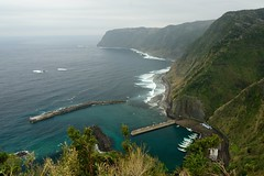 Nago view spot (Hachijo-jima) /  (Kaoru Honda) Tags: sea mountain nature japan rural landscape island volcano tokyo nikon   volcanic     hachijo  izuislands   fishingport  hachijojima  hachijoujima   d7000 izusevenislands