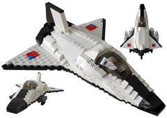 Space Shootle - Title1 (.Jake) Tags: ship lego space military shuttle spaceship interceptor