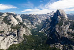 No words... (theqspeaks) Tags: california ca travel blue trees shadow sky mountain mountains clouds canon point landscape waterfall nationalpark day may glacier valley yosemite dome granite halfdome tamron f28 2012 1750mm 60d tamronspaf1750mmf28xrdiiivcldasphericalif pwpartlycloudy