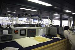 Control room (sjoerd_reverda) Tags: bridge chart netherlands rio de ship janeiro vale record navigation portofrotterdam bulker