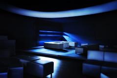 illumination (deNNis-grafiX.com) Tags: longexposure blue berlin architecture bar design interior innenarchitektur interieur lounge illumination seats architektur concept sessel
