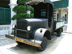 Old Japanese military vehicle (shankar s.) Tags: sentosaisland imagesofsingapore japanesemilitaryvehicle