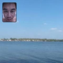 #ไม่ต้องไปเที่ยวเอง#ก็มีรูปลงได้#ขอบคุณสำหรับผู้อุปการะคุณรูปนี้#ทะเลต่างจังหวัด#ไม่เหมือนภูเก็ต#แต่ก็สวยดีนะนะนะ