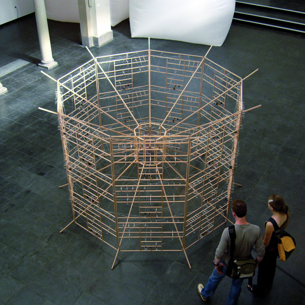 Installation view, Trinitatis church Cologne, 2007