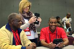 gc2016-tablet-L6882 (United Methodist News Service) Tags: oregon training portland technology unitedstates learning tablet instruction gc2016