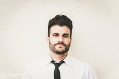 Business man | Model: Ensar Tiago Gngr (thendele) Tags: portrait man male guy businessman model bart business mann herr modell anzug kerl brtig