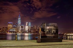 """Some days the memories still knock the wind out of me.. One WTC """"Freedom Tower"""" Memorial Day Weekend. (mitzgami) Tags: newyorkcity longexposure nightphotography landscape photography nikon flickr worldtradecenter hudsonriver memorialday freedomtower nikonphotography onewtc"""
