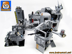 DEATH STAR WORLD 01 (baronsat) Tags: death star lego collection micro kenner wars playsets