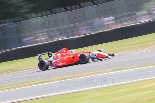 Rafael Martins in British Formula Four during the BTCC weekend at Oulton Park, June 2016