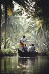 Serene (Tom Abraham Dcruz) Tags: india nature boat sailing ride kerala serene kollam backwaters incredibleindia canon6d munroethuruthu