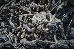 Wat Rong Khun, Thailand. (Bolin27) Tags: white art strange thailand temple skull weird scary asia buddhist buddhism creepy installation wat chiang rai chiangrai whitetemple watrongkhun